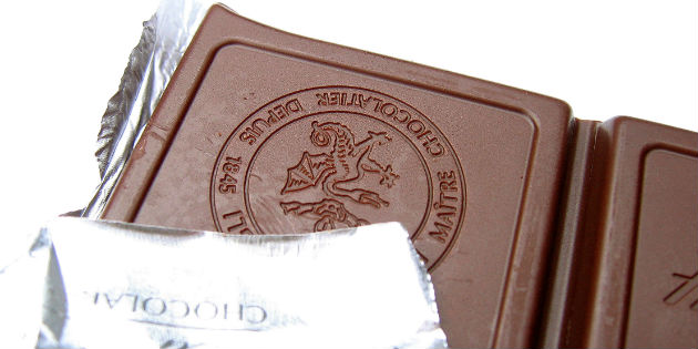 Lower hearing loss in chocolate eaters