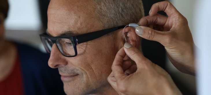 Wearing hearing aids takes some getting used to