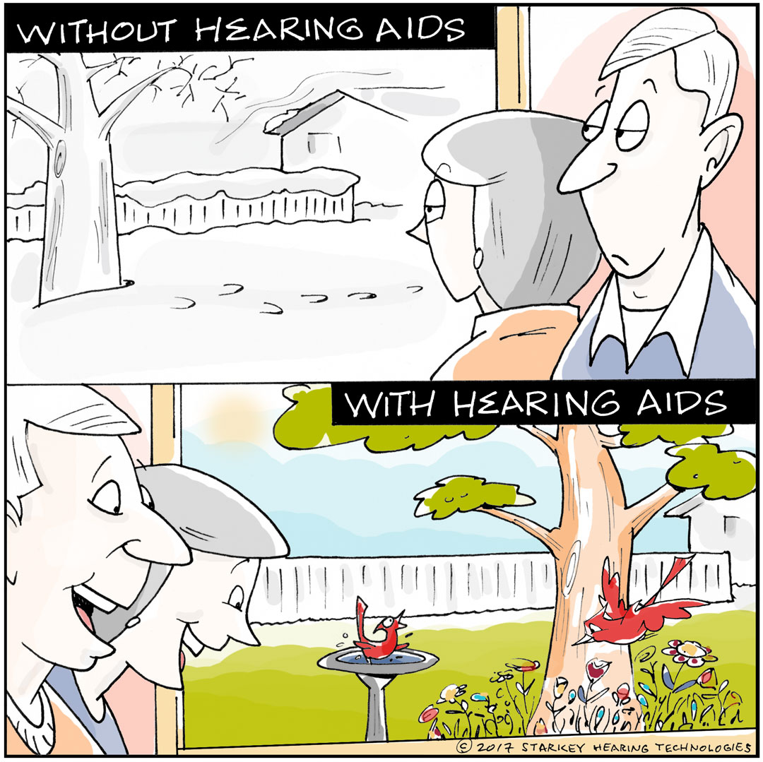 Put some spring in your hearing